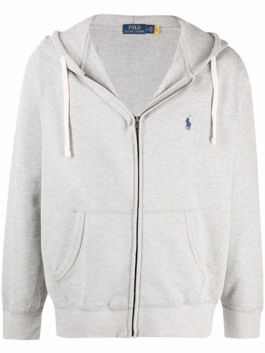 Polo Ralph Lauren Polo Poney zip-up hoodie - Grau