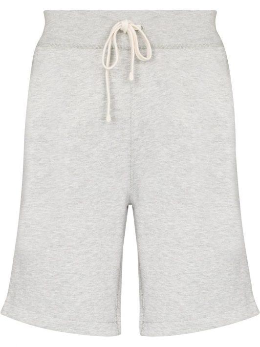 Polo Ralph Lauren drawstring cotton-blend jersey shorts - Grau