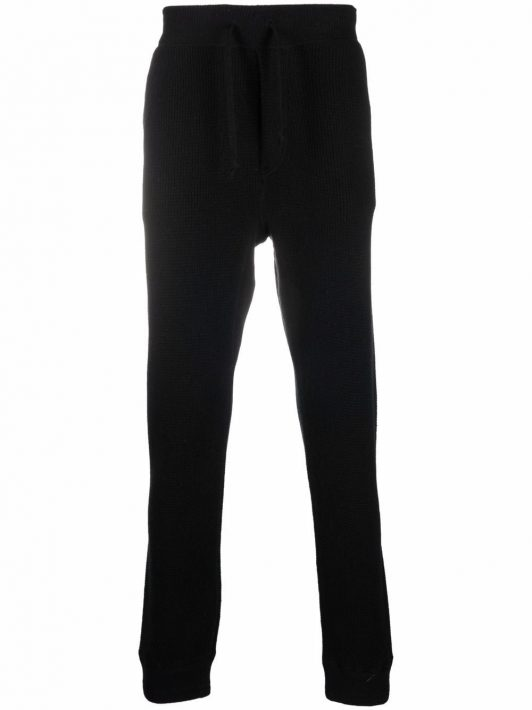 Polo Ralph Lauren knitted cashmere track pants - Schwarz
