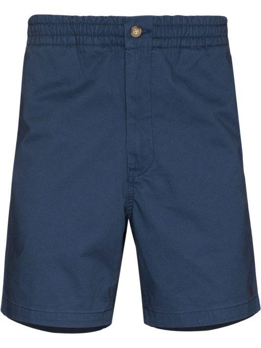 Polo Ralph Lauren logo-embroidered chino shorts - Blau