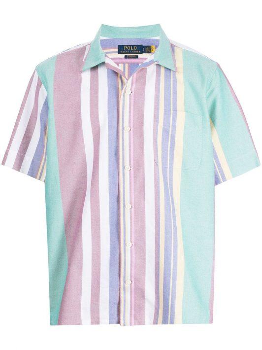 Polo Ralph Lauren striped short sleeve shirt - Mehrfarbig