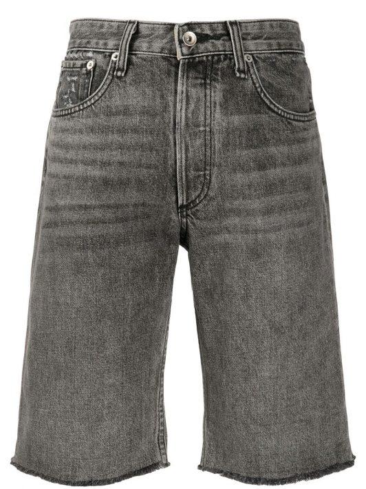 Rag & Bone Jeans-Shorts im Boyfriend-Stil - Schwarz