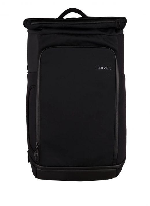 Salzen Rucksack Triplete Mit Laptop-Fach schwarz