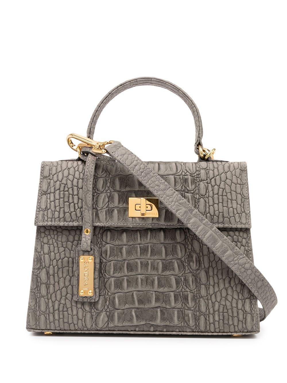 Sandra J Jackie Mini Handtasche - Grau
