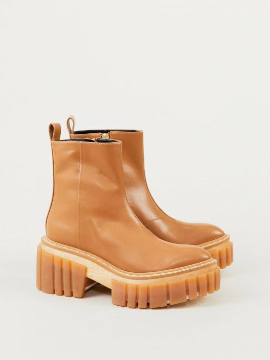 Stella McCartney - Boots 'Emilie' Hellbraun