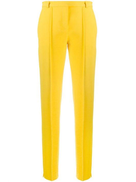 Styland Hose mit hohem Bund - Gelb