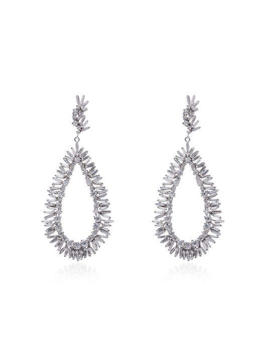 Suzanne Kalan Ohrringe mit Diamanten - Weiß