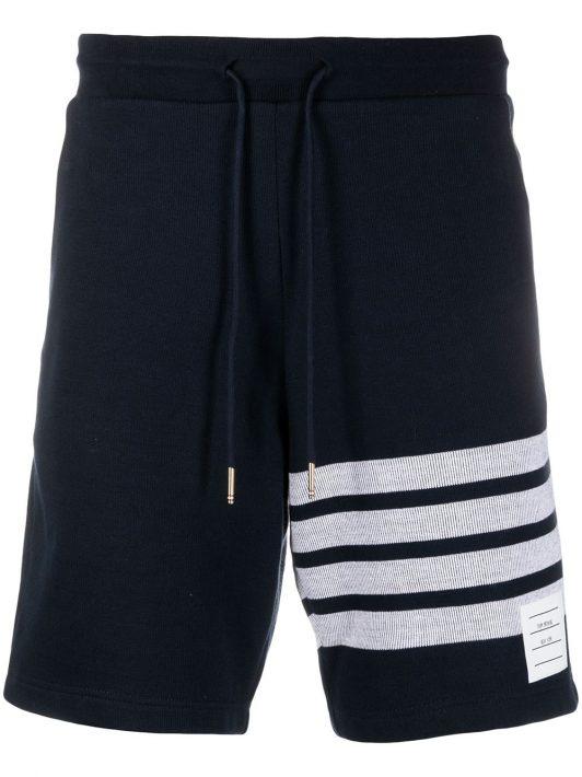 Thom Browne Shorts mit Streifen - Blau