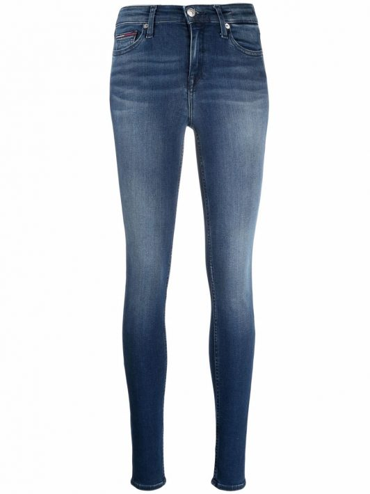 Tommy Jeans Nora mid-rise skinny jeans - Blau