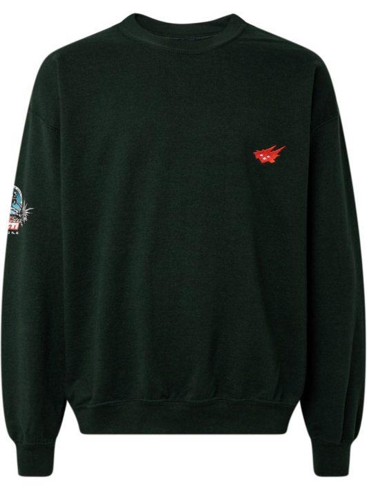 Travis Scott Heritage II crew-neck sweatshirt - Schwarz