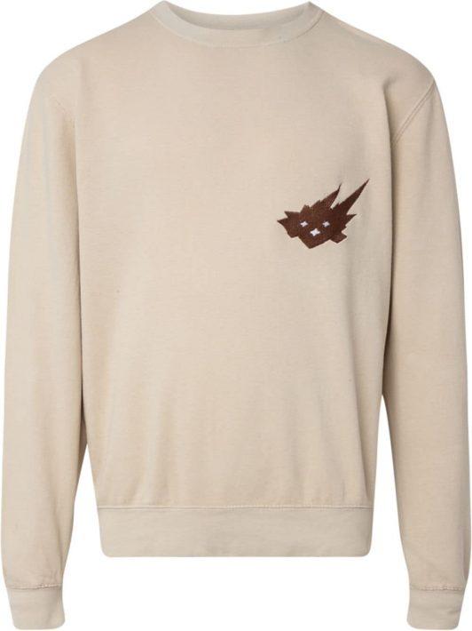 Travis Scott x Cacti Heritage crewneck sweatshirt - Nude
