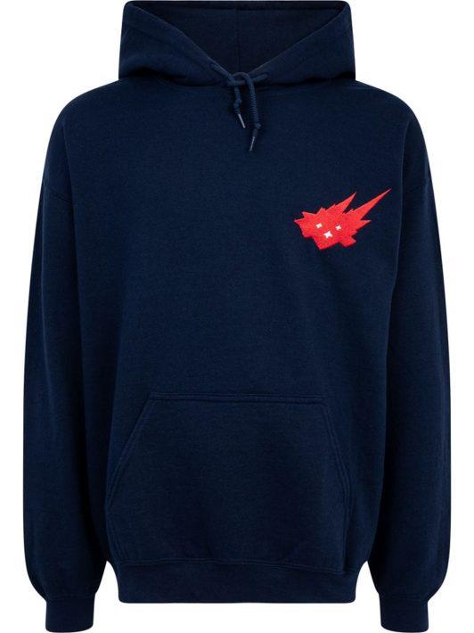 Travis Scott x Cacti Heritage logo-print hoodie - Schwarz