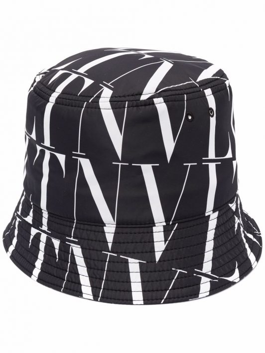 Valentino VLTN Times bucket hat - Schwarz