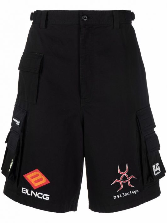 Balenciaga Gamer cargo shorts - Schwarz