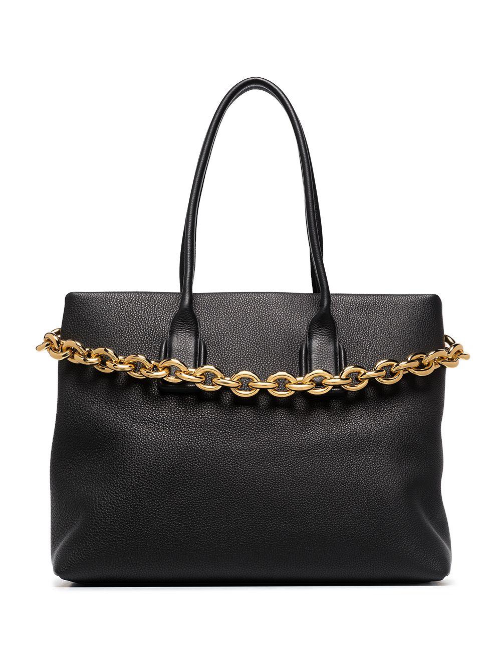 Bottega Veneta Handtasche aus Leder - Schwarz