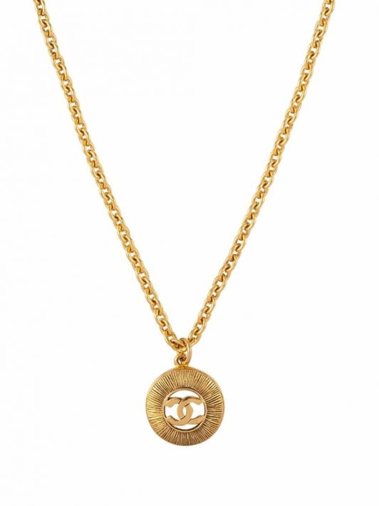 Chanel Pre-Owned 1980s Halskette - Gold