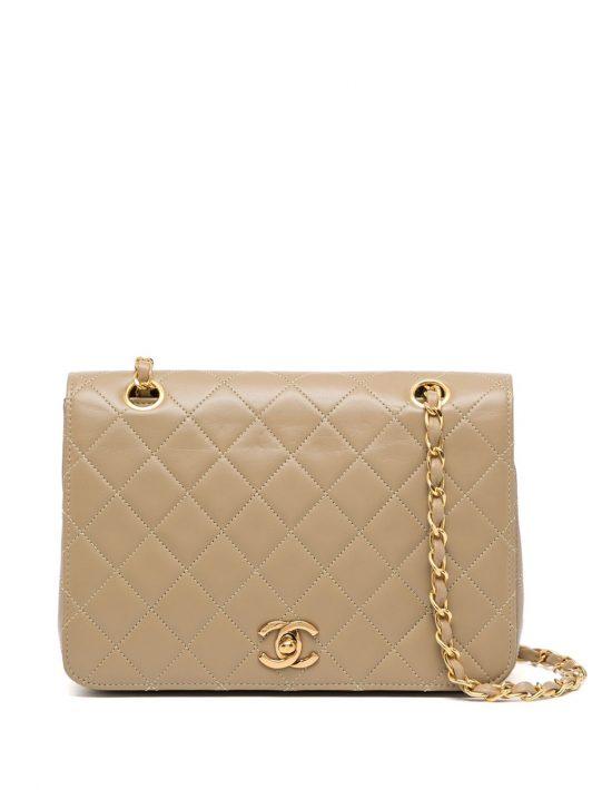Chanel Pre-Owned 1985-1993 Schultertasche - Braun