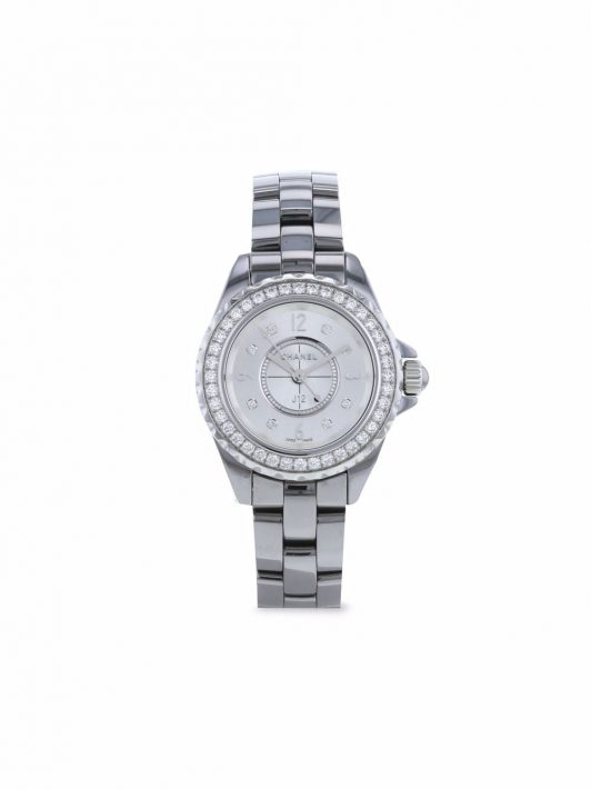 Chanel Pre-Owned 2000s pre-owned J12 Keramik 29mm - Silber