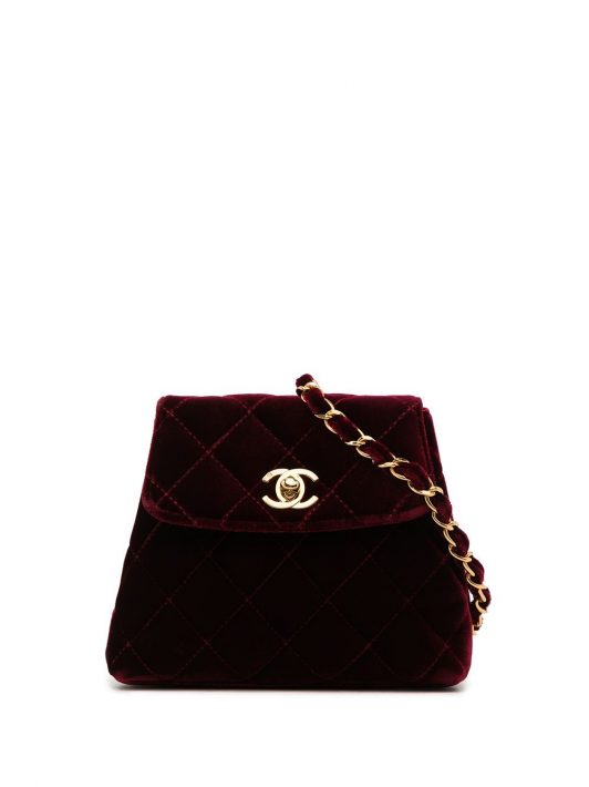 Chanel Pre-Owned Gesteppte 1997 Gürteltasche - Rot
