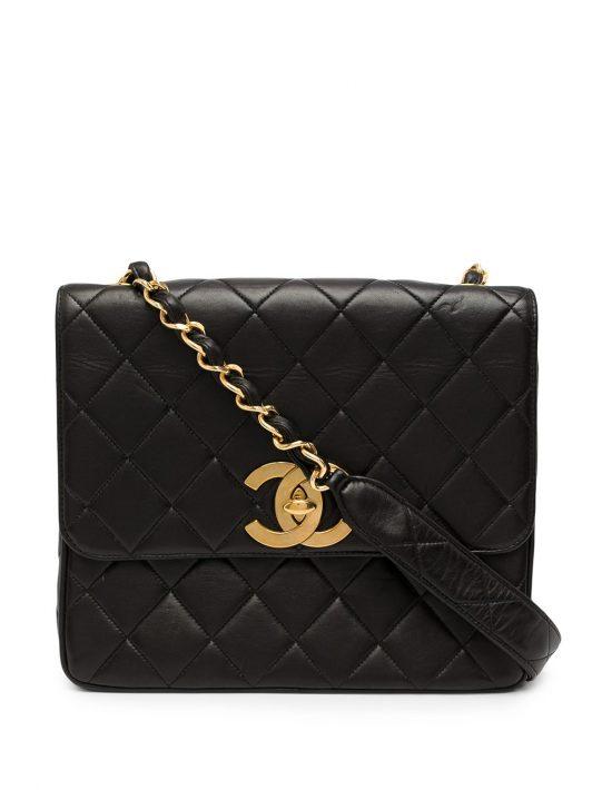 Chanel Pre-Owned Klassische Umhängetasche - Schwarz