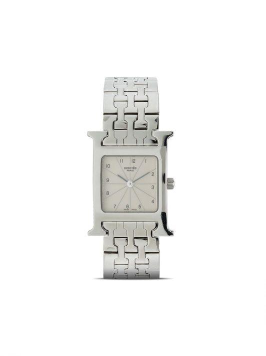 Hermès pre-owned Heure H 21mm - Silber