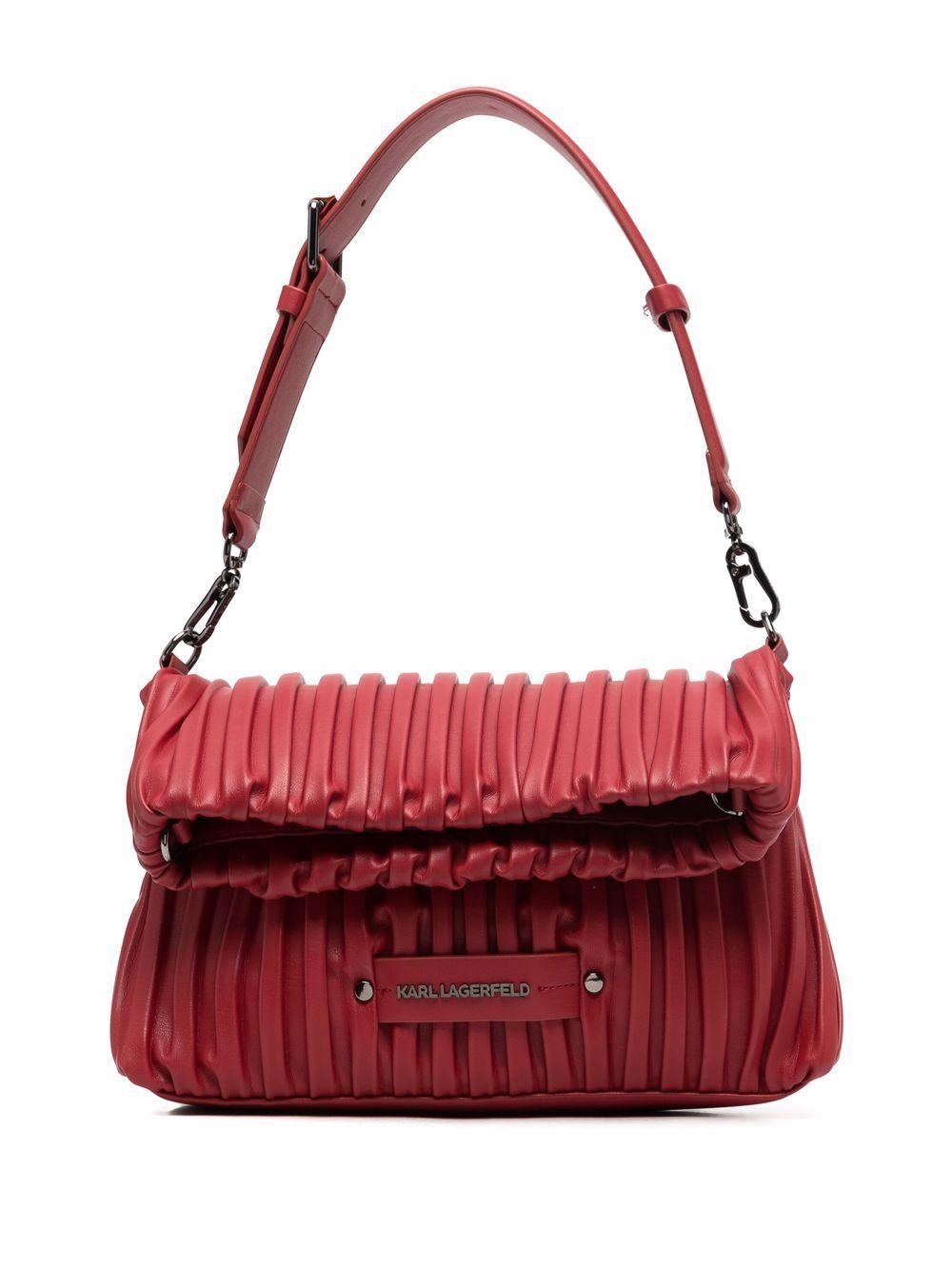 Karl Lagerfeld K/Kushion Handtasche mit Klappe - Rot