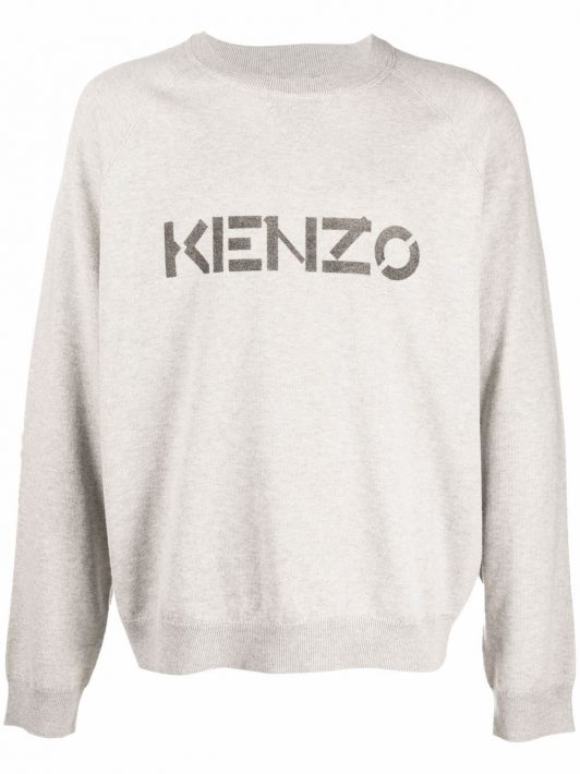 Kenzo Pullover mit rundem Ausschnitt - 93 GREY