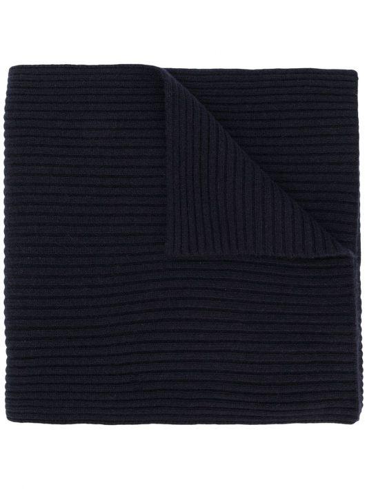 N.Peal Gerippter Schal - Blau