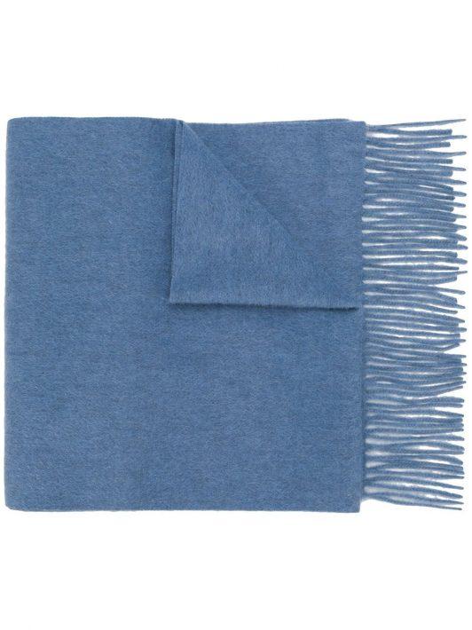 N.Peal Gewebter Kaschmirschal - Blau