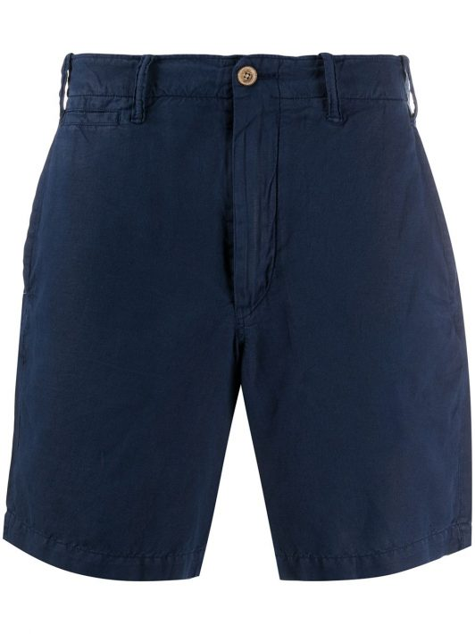 Polo Ralph Lauren Schmale Chino-Shorts - Blau