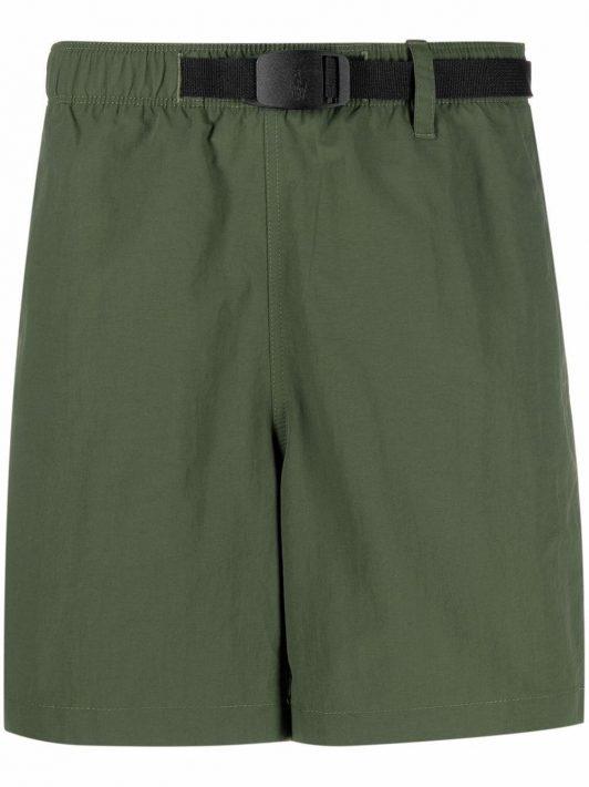 Polo Ralph Lauren slide-buckled straight-leg shorts - Grün