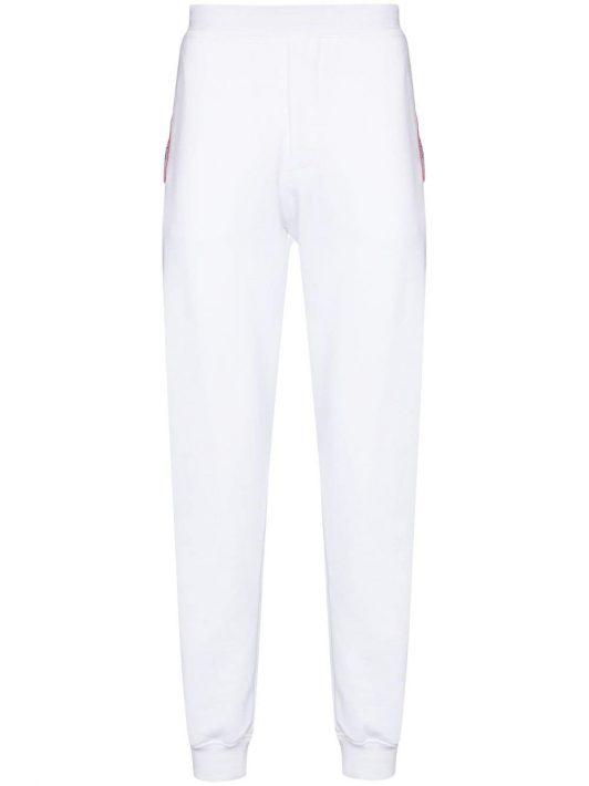 Alexander McQueen AMQ LOGO TAPE SWTPNT WHT - Weiß
