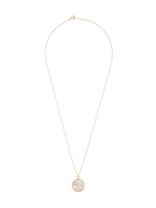 Aurelie Bidermann Halskette mit Anhänger - Metallisch