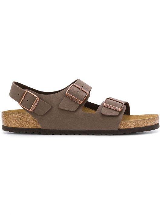 Birkenstock Sandalen mit Schnallen - Braun