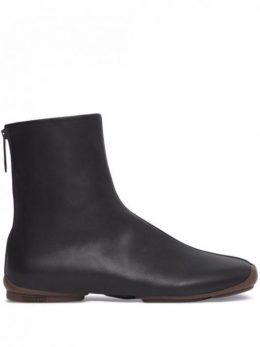 Burberry Phoenix Sock-Boots - Schwarz