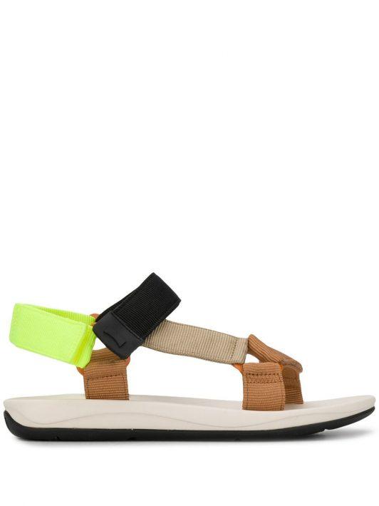 Camper Sandalen in Colour-Block-Optik - Nude