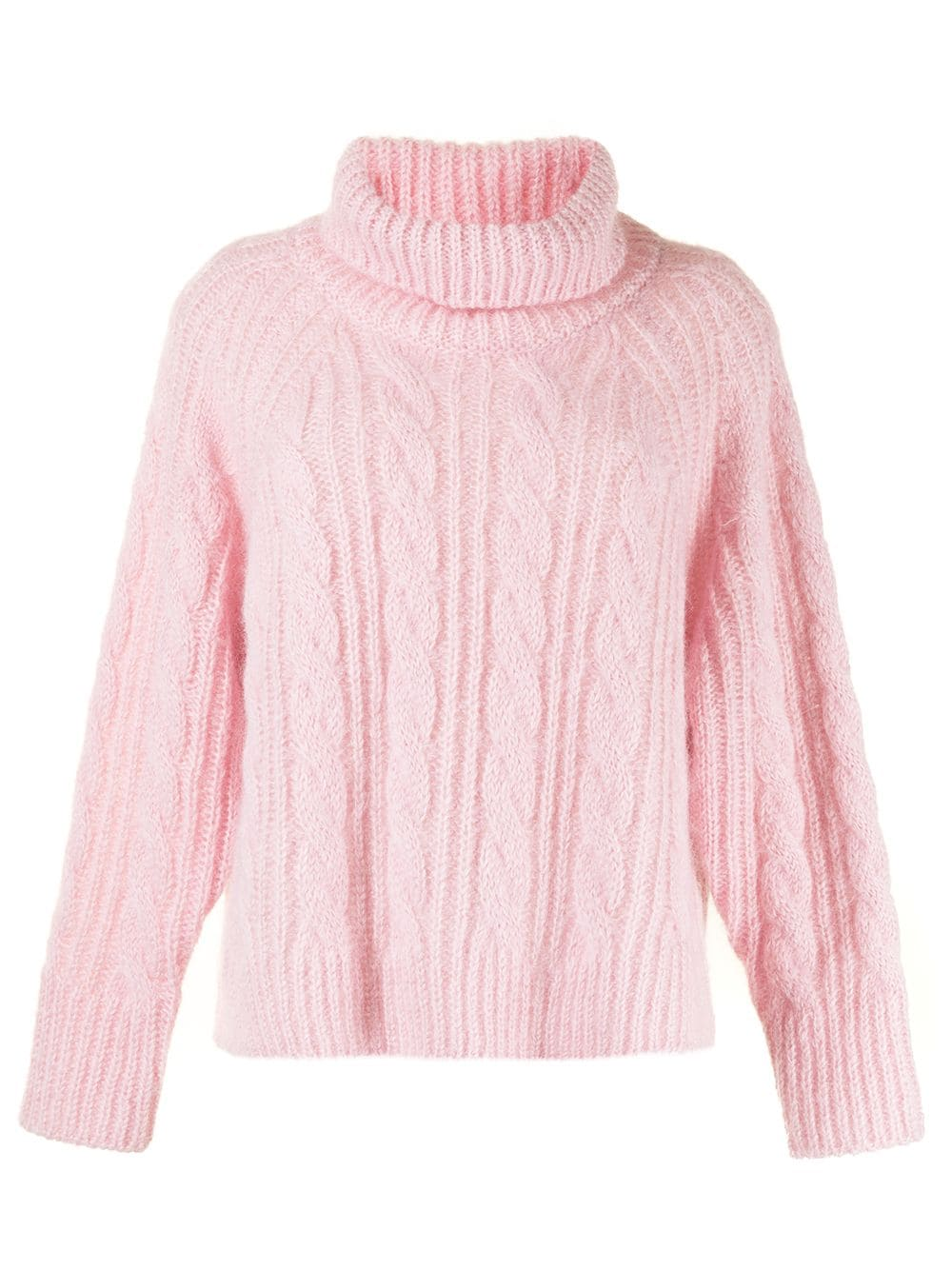 Cecilie Bahnsen Pullover mit Zopfmuster - Rosa
