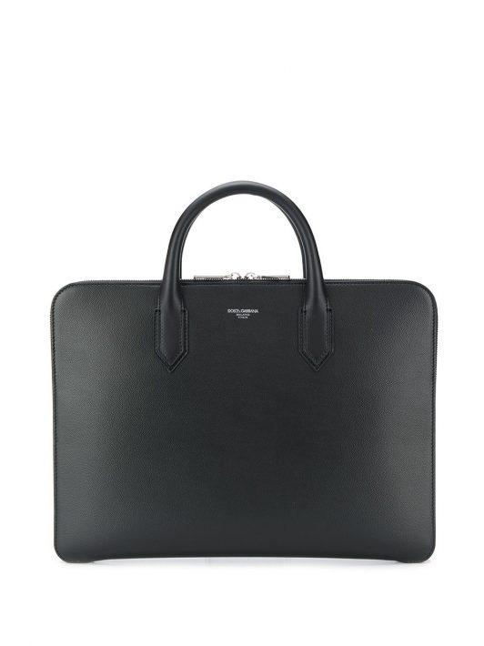 Dolce & Gabbana Klassische Laptoptasche - Schwarz