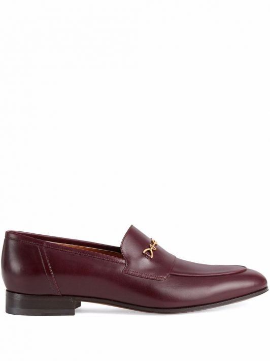 Gucci Loafer mit GG - Rot