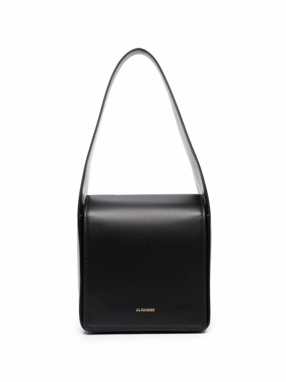 Jil Sander Kleine Sling Handtasche - 1 BLACK