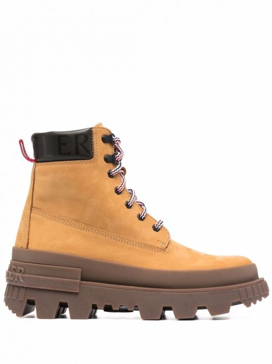 Moncler Mon Corp ankle boots - Braun