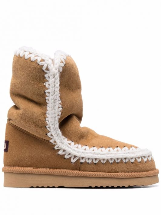 Mou shearling-lined boots - Braun