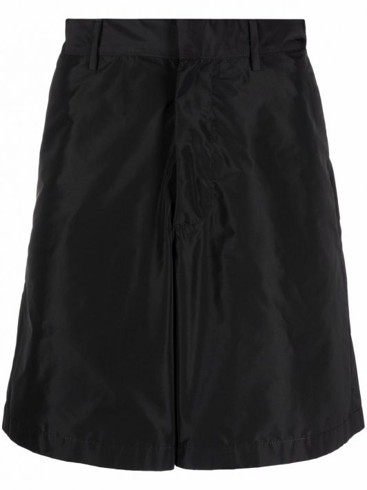 Off-White flared shorts - Schwarz