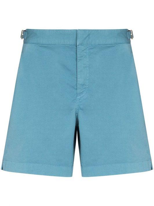 Orlebar Brown Bulldog cotton chino shorts - Blau
