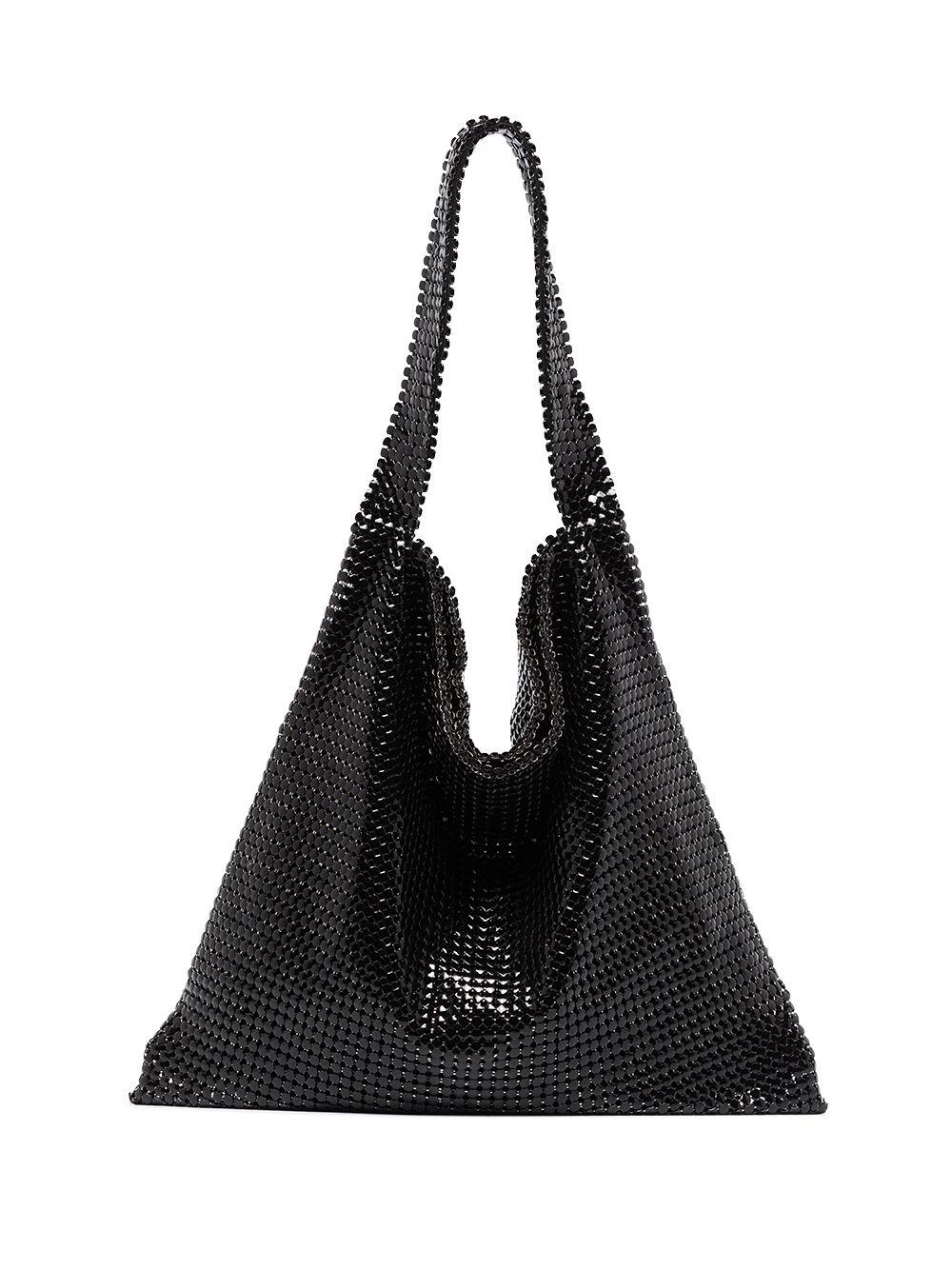 Paco Rabanne Handtasche aus Kettengeflecht - Schwarz
