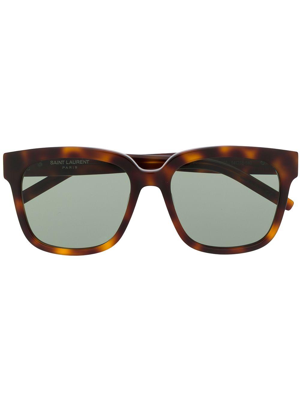 Saint Laurent Eyewear 'SLM40' Sonnenbrille - Braun