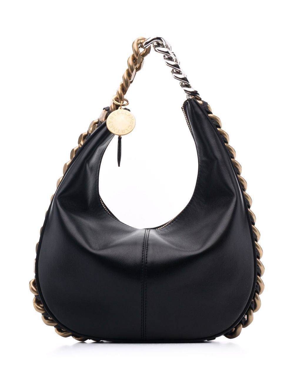Stella McCartney Handtasche mit Kettenriemen - Schwarz