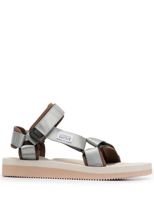 Suicoke Sandalen mit Klettverschluss - Grau