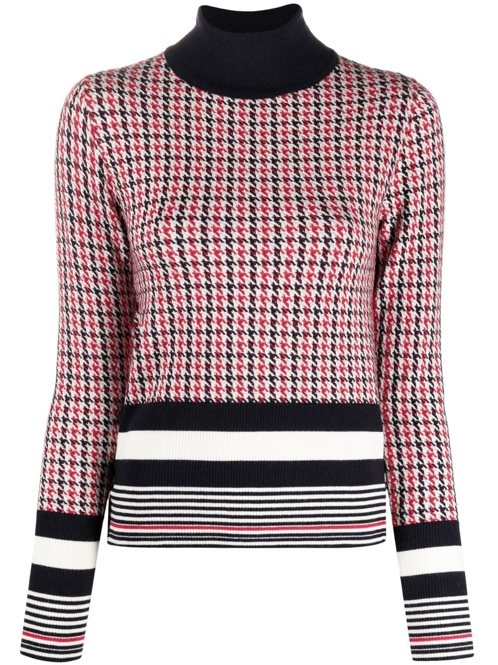 Thom Browne Pullover mit Muster - Rot