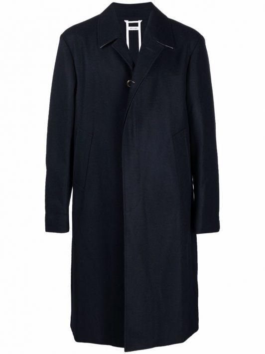 Thom Browne single-breasted coat - Blau